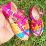 zj00642 Huarache Artesanal Mexicano Hecho mano piel bebe Zapato piso calzado mayoreo fabrica proveedor maquilador fabricante mayoreo