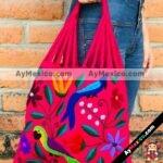 bj00019 Bolsa artesanal bordada a mano fiushamayoreo fabricante proveedor taller maquilador (1)