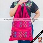 bj00022 Bolsa artesanal bordada a mano rosamayoreo fabricante proveedor taller maquilador (1)