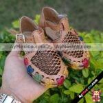 zj00539 Huarache artesanal piso bebe mayoreo fabricante calzado zapatos proveedor sandalias taller maquilador