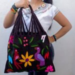bj00021 Bolsa artesanal bordada a mano cafemayoreo fabricante proveedor taller maquilador (1)