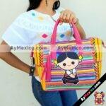 bs00047 Bolsa artesanal bordada maria hecha a mano multicolor fabricante mayoristamayoreo fabricante proveedor taller maquilador (1)