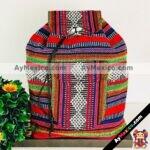 bj00052 Bolsa mochila morral artesanal colores medida 41×38 cm de dos tirantesmayoreo fabricante proveedor taller maquilador (1)