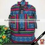 bj00056 Bolsa mochila morral artesanal jumbo colores medida 57×45 cm de dos tirantesmayoreo fabricante proveedor taller maquilador (1)