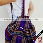 bj00058 Bolsa mochila morral artesanal azul colores medida 31×38 cm de dos tirantesmayoreo fabricante proveedor taller maquilador (1)