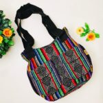 bj00063 Bolso de mano con bolsas negro colores medida 22×28.5 cm tipo princesamayoreo fabricante proveedor taller maquilador (1)