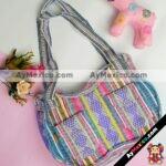 bj00065 Bolso de mano con bolsas arcoiris medida 22.5×36.5 tipo princesa mayoreo fabricante proveedor taller maquilador (1)