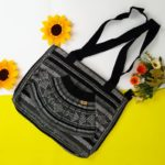 bj00084 Bolsa mochila morral de mano artesanal medida 29×35 cm negro abanicomayoreo fabricante proveedor taller maquilador (1)